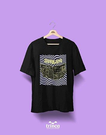 Camiseta Personalizada - Psicodélicos - Jornalismo - Basic