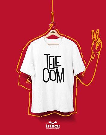 Camiseta Personalizada - Minimal - Telecomunicações - Basic