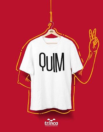 Camiseta Personalizada - Minimal - Química - Basic