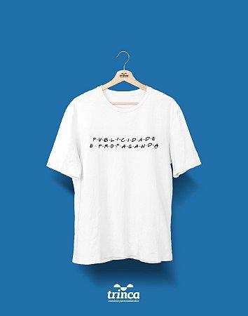Camisa Universitária Publicidade e Propaganda - Friends - Basic