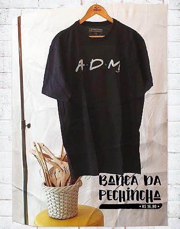 Camiseta Universitária - Administração - Friends - Basic