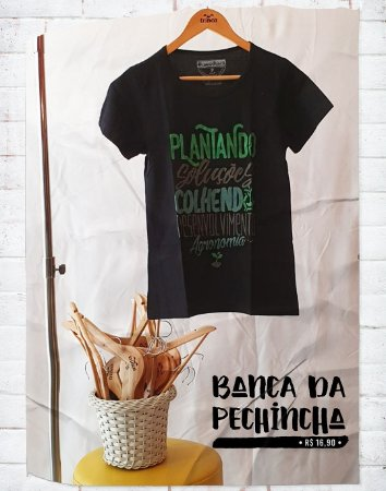 Camiseta Universitária - Agronomia - Ciclo - Basic