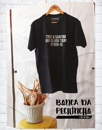 Camiseta Especial - Carnaval - Ô da sanfona! - Basic