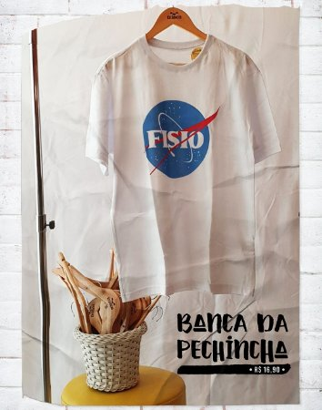 Camiseta Universitária - Fisioterapia - Nasa - Basic