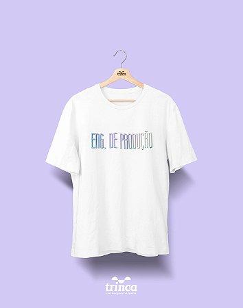 Camiseta Universitária - Engenharia de Produção - Tie Dye - Basic