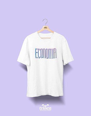 Camiseta Universitária - Economia - Tie Dye - Basic