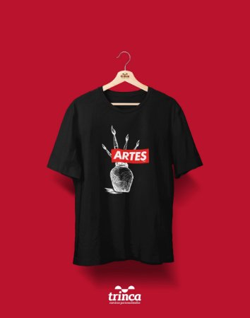 Camiseta Universitária - Artes - Supreme - Basic