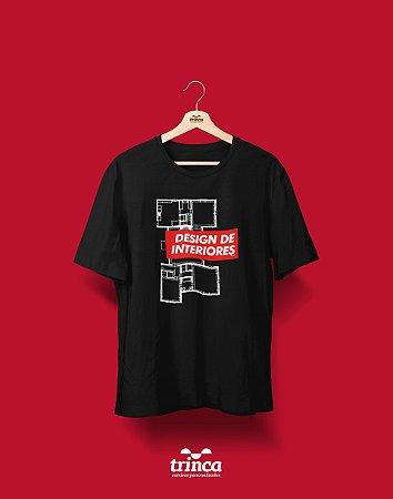 Camiseta Universitária - Design de Interiores - Supreme - Basic