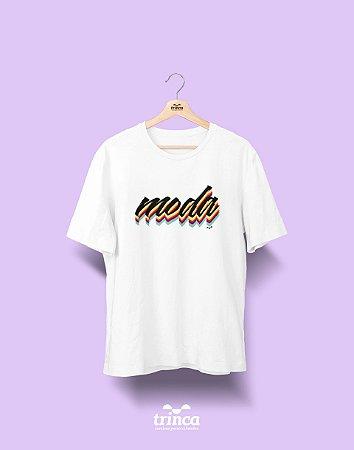 Camiseta Universitária - Design de Moda - Grafite - Basic