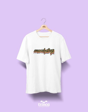 Camiseta Universitária - Marketing - Grafite - Basic