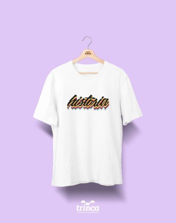 Camiseta Universitária - História - Grafite - Basic
