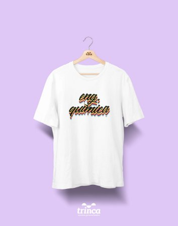Camiseta Universitária - Engenharia Química - Grafite - Basic