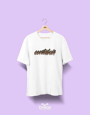 Camiseta Universitária - Ciências Contábeis - Grafite - Basic