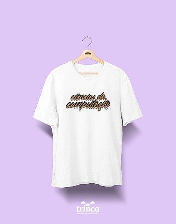 Camiseta Universitária - Ciência da Computação - Grafite - Basic