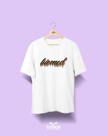 Camiseta Universitária - Biomedicina - Grafite - Basic