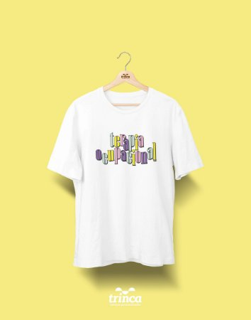 Camiseta Universitária - Terapia Ocupacional - 90's - Basic
