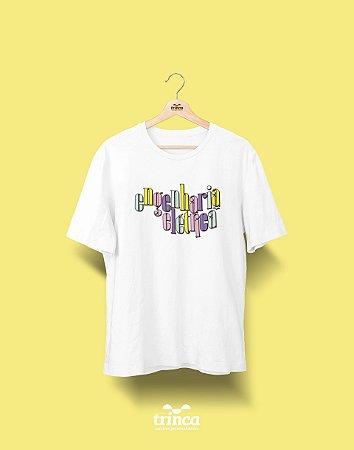 Camiseta Universitária - Engenharia Elétrica - 90's - Basic