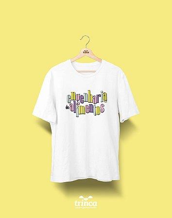 Camiseta Universitária - Engenharia de Alimentos - 90's - Basic