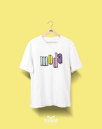 Camiseta Universitária - Design de Moda - 90's - Basic