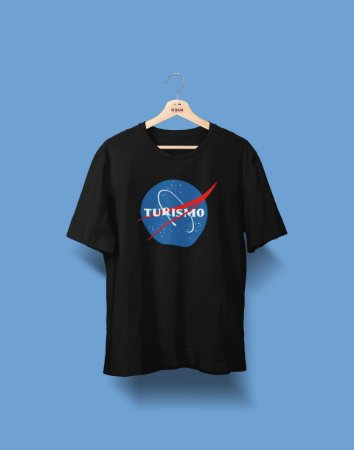 Camiseta Universitária - Turismo - Nasa - Basic
