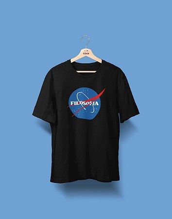 Camiseta Universitária - Filosofia - Nasa - Basic