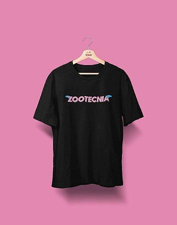 Camiseta Universitária - Zootecnia - Voe Alto - Basic
