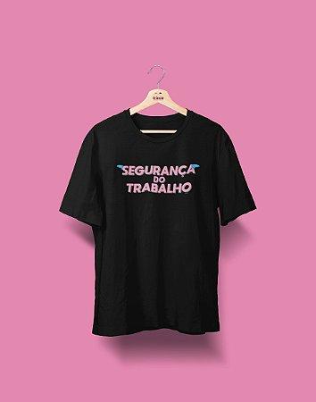Camiseta Universitária - Segurança do Trabalho - Voe Alto - Basic