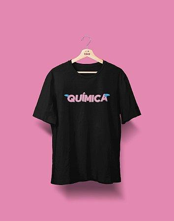 Camiseta Universitária - Química - Voe Alto - Basic