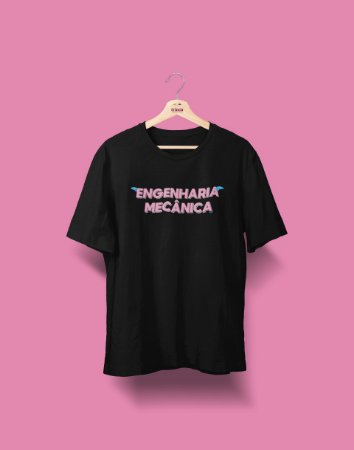 Camiseta Universitária - Engenharia Mecânica - Voe Alto - Basic