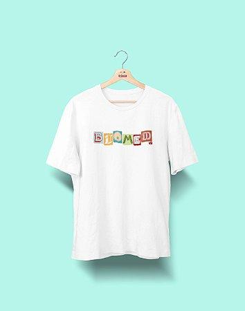 Camiseta Universitária - Biomedicina - Colagem - Basic