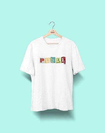 Camiseta Universitária - Publicidade e Propaganda - Colagem - Basic