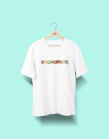 Camiseta Universitária - Geografia - Colagem - Basic