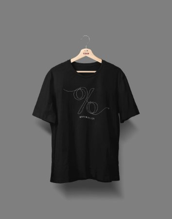 Camiseta Universitária - Matemática - Fine Line - Basic