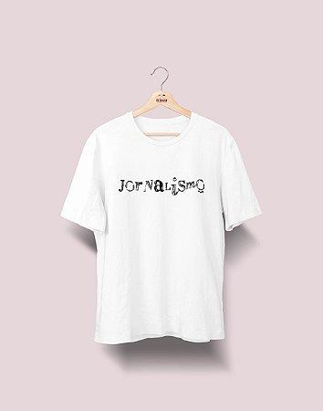 Camiseta Universitária - Jornalismo - Nanquim - Basic