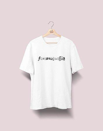 Camiseta Universitária - Fonoaudiologia - Nanquim - Basic