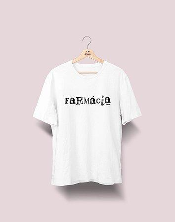 Camiseta Universitária - Farmácia - Nanquim - Basic