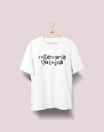 Camiseta Universitária - Engenharia Química - Nanquim - Basic
