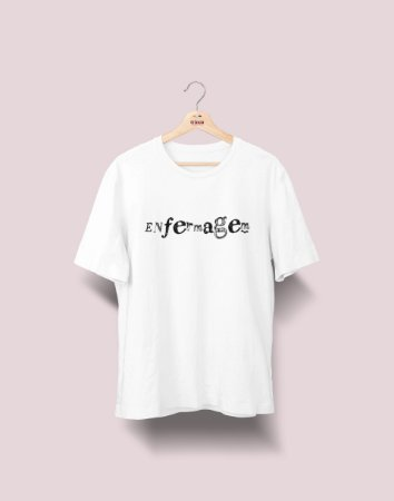Camiseta Universitária - Enfermagem - Nanquim - Basic