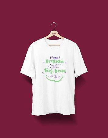 Camisa Universitária Odontologia - Faz bem - Basic