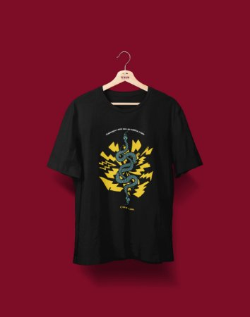 Camiseta Universitária - Fisioterapia - É tocar a Alma - Basic