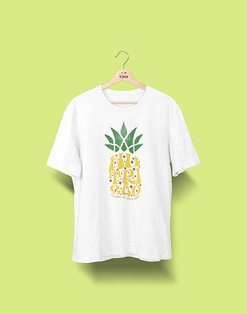 Camiseta Universitária - Nutrição - Abacaxi - Basic