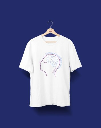 Camiseta Universitária - Psicologia - Curvas - Basic