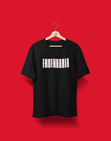 Camiseta Universitária - Coleção 3D - Engenharia - Basic