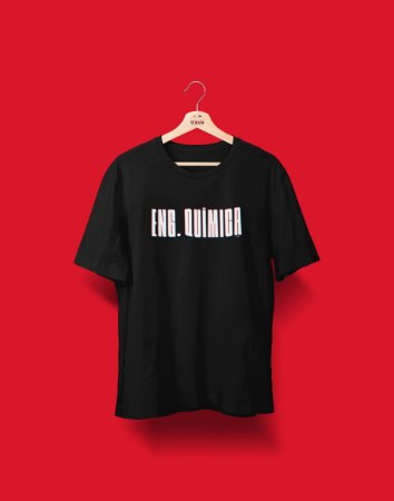 Camiseta Universitária - Coleção 3D - Engenharia Química - Basic