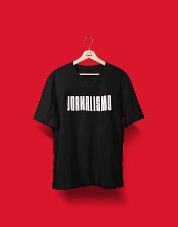 Camiseta Universitária - Coleção 3D - Jornalismo - Basic