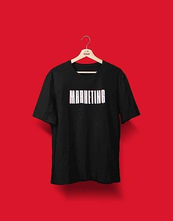 Camiseta Universitária - Coleção 3D - Marketing - Basic