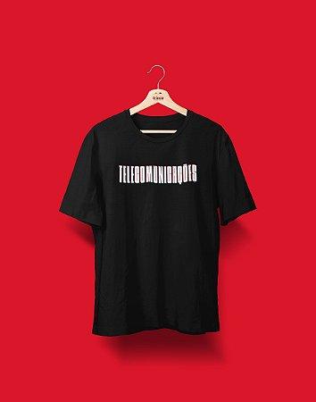 Camiseta Universitária - Coleção 3D - Telecomunicações - Basic