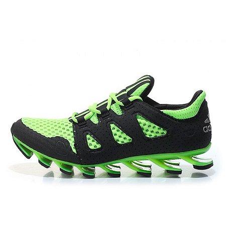 678552687f2 Tênis Adidas Springblade 6 Pro Shoes - Verde Claro e Preto