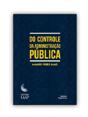 Livro - Do controle da administração pública