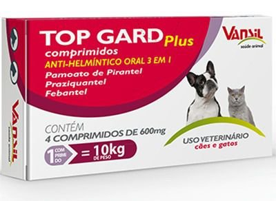 TOP GARD PLUS 600mg